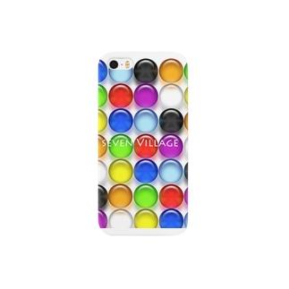 ドット柄 Smartphone cases