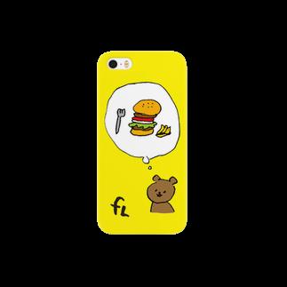 freeLand Vintage&Hamburger Cafeの今から15分後に食べるバーガー Smartphone cases