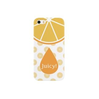 オレンジジュース Smartphone cases