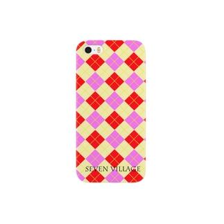 アーガイル Smartphone cases