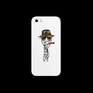GRAPHICAのキリンシリーズ Smartphone cases
