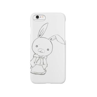 パーカーうさぎ Smartphone cases