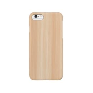木目調 Smartphone Case