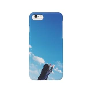 青い空 Smartphone cases