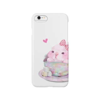 teacup*うさちゃん Smartphone cases