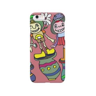 かぶりもの Smartphone cases
