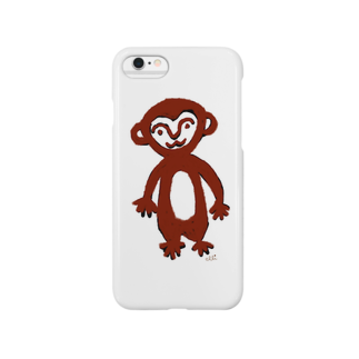 elliのぼくさる Smartphone cases