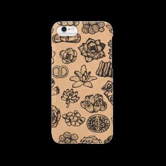 chicu.のいろいろ多肉植物 Smartphone cases