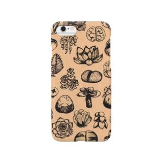 いろいろ多肉植物2 Smartphone cases