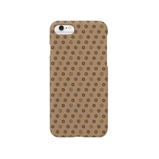 スチームパンク風歯車デザイン01 Smartphone Case