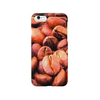 コーヒー豆 Smartphone cases