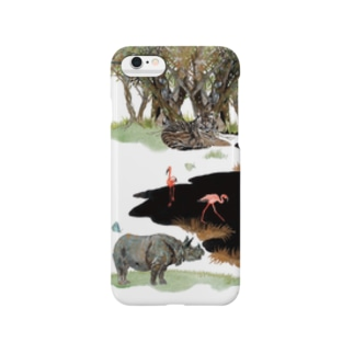 White Canvas Smartphone cases