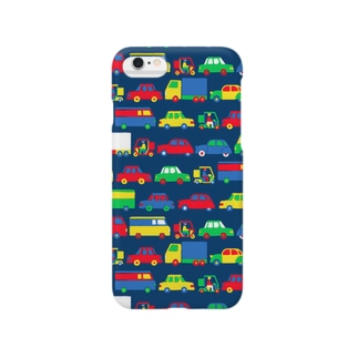 Vehicles pattern Smartphone cases