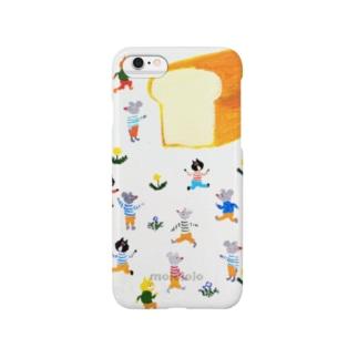 パンがやけたよ Smartphone cases