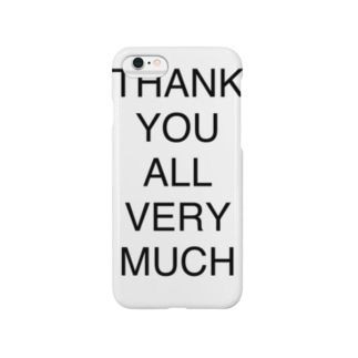 THANK YOU ALL VERY MUCH Smartphone cases