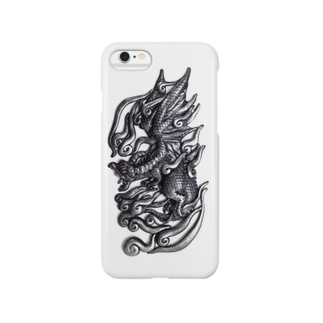 メタルドラゴン Smartphone cases