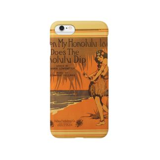 BCOのハワイアンフラガール Smartphone cases