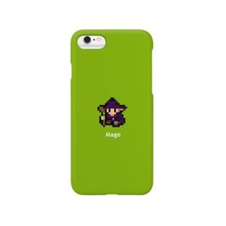 8ビットな魔法使い Smartphone cases