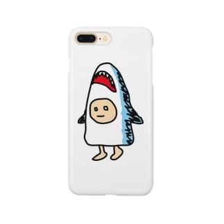 サメズちゃん Smartphone cases