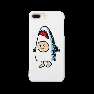 サメズちゃんのサメズちゃん Smartphone cases