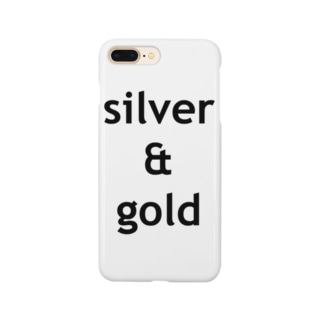 silver & gold Smartphone cases