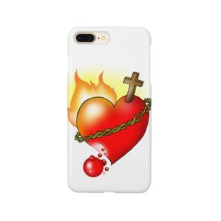 燃えるみこころ Smartphone cases