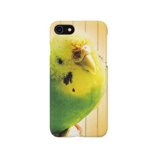 クビカシゲインコ Smartphone cases