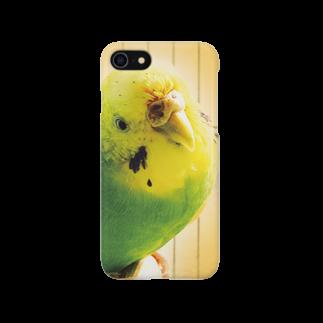 Melangeのクビカシゲインコ Smartphone cases