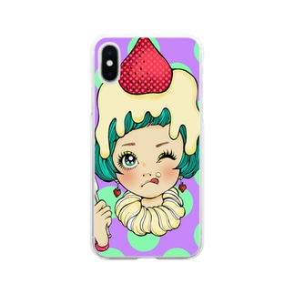 cake*girl Soft clear smartphone cases