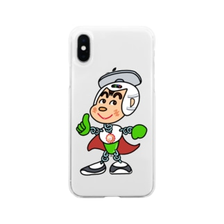 秤屋勘三郎 異能兄弟シリーズ03 Soft clear smartphone cases