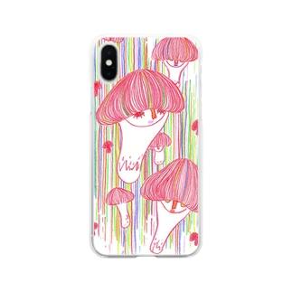 kinoko2 DE Soft clear smartphone cases