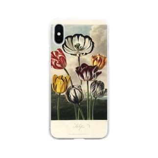フローラの神殿 - チューリップ Soft clear smartphone cases