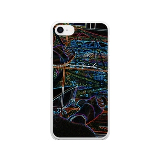 Tokyo Tower Sky Soft clear smartphone cases