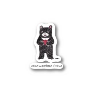 フリーダムくま Stickers