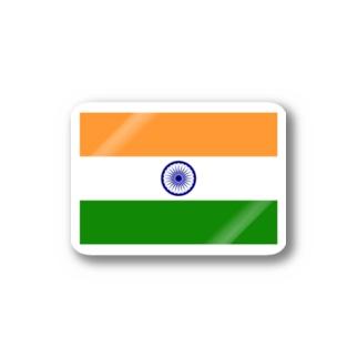 インド国旗 ステッカー