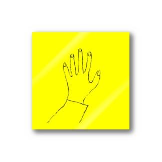 黄色い手 Stickers