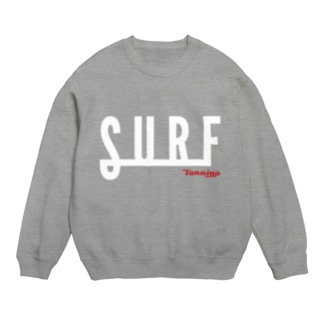 SURF2-White(濃色用) スウェット