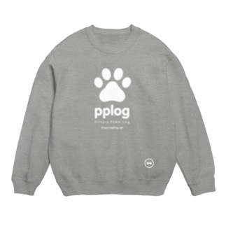 pplog(白抜き) Sweats