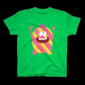 福来笑店のMONSTERS Tシャツ