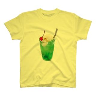 そうだ、クリームソーダ。 Tシャツ