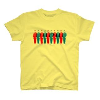 UN兄弟 ずらり T-shirts
