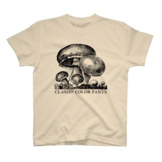 Mushroom six Tシャツ
