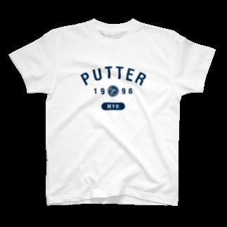 yoshideのPUTTER 1996 Tシャツ