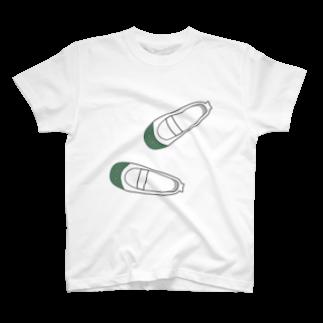 mihoの懐かしい脱ぎっぱなしの上履き Tシャツ