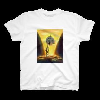 PPA Lab.の梯子の少年Tシャツ