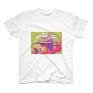 パイプの男 Tシャツ