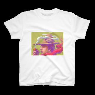 PPA Lab.のパイプの男Tシャツ