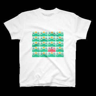 看板屋カエル隊まゆみ@セカンドライフのカエル隊 Tシャツ Tシャツ