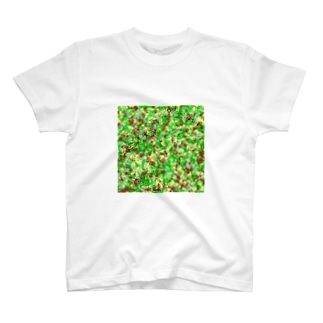 Camouflage(Cat's Footmark) Tシャツ