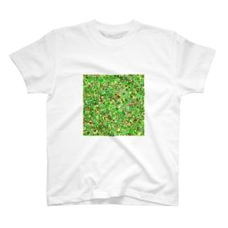 Camouflage(Flower) Tシャツ